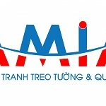 Hinh anh logo tranh trang tri va qua tang AmiA